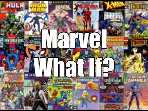 Komiksové bubliny - Marvel What If?