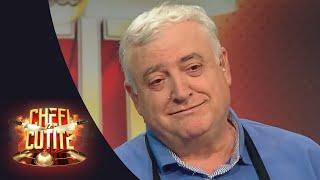 Dan Florea, un colonel în rezervă vrea să-l înveţe pe chef Scărlătescu cum se face saramura de crap!