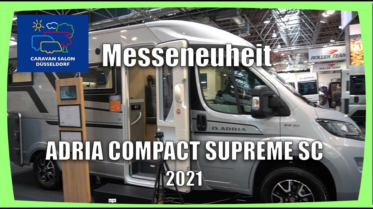 ADRIA COMPACT SUPREME SC 2021 - Caravan Salon Düsseldorf ...