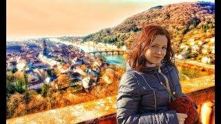 Heidelberg самые БОЛЬШИЕ развалины! Hirschhorn