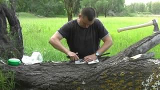 как сделать чехол для топора