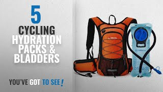Top 10 Cycling Hydration Packs & Bladders [2018]: Miracol Hydration Backpack with 2L Water Bladder,
