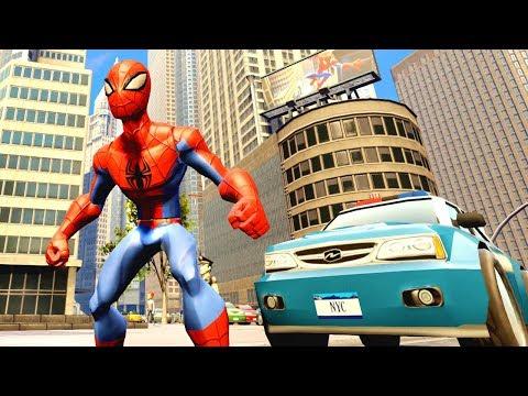 Örümcek Disney Infinity Görevlerini Yapıyor (Disney Infinity 3.0) indir