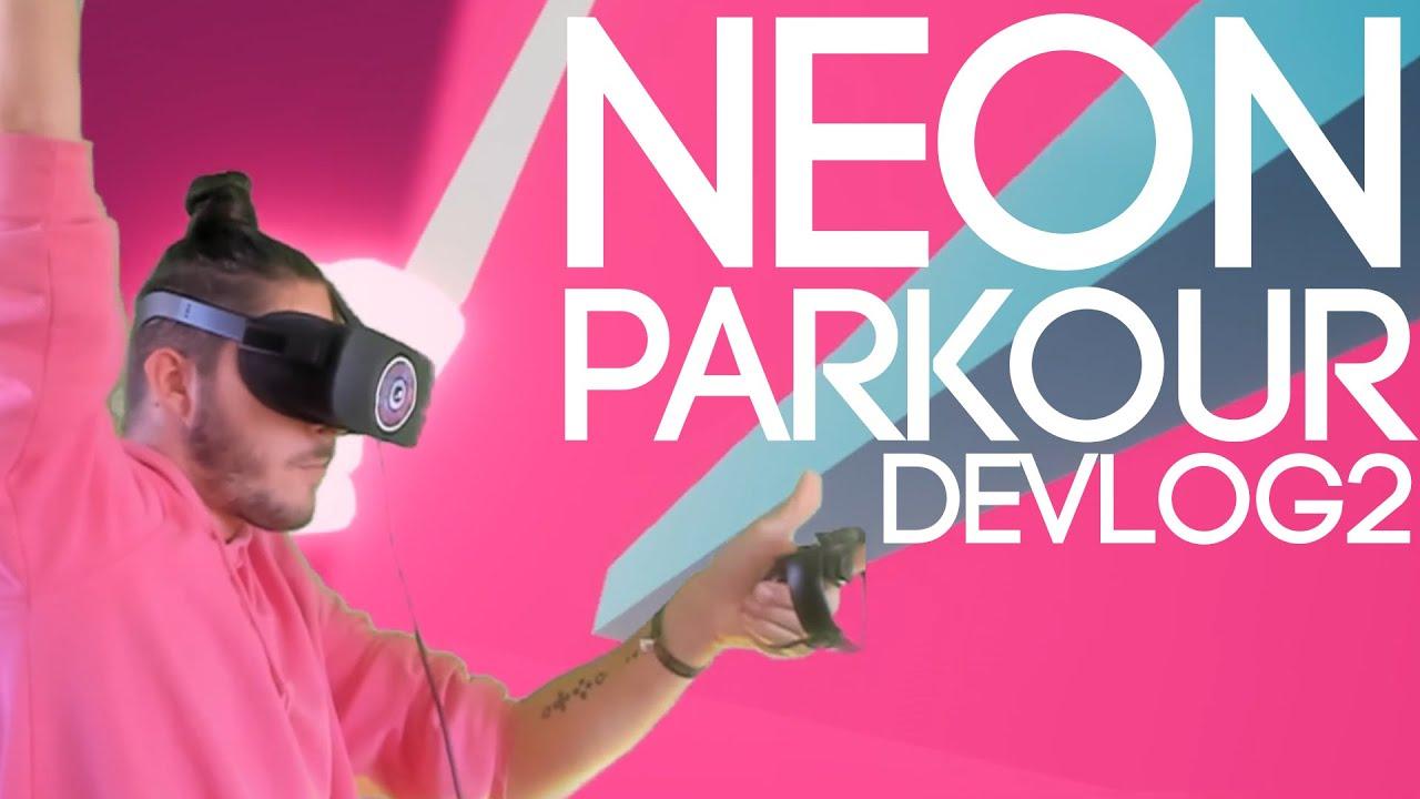 Movement absolut DOPE + erste Puzzle Mechaniken | NeonParkour DevLog #02
