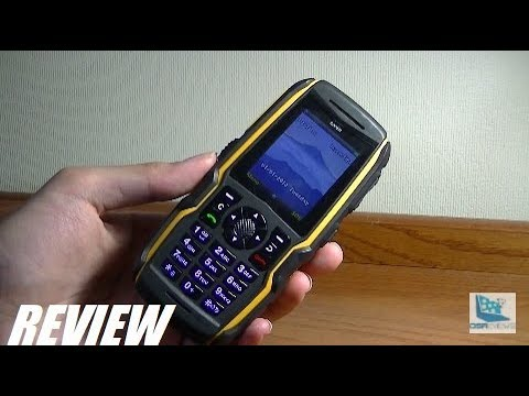 REVIEW: Sonim Bolt SL - Rugged Waterproof Cell Phone!
