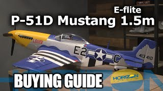 Load Video 3:  E-flite P-51D Mustang 1.5m BNF Basic