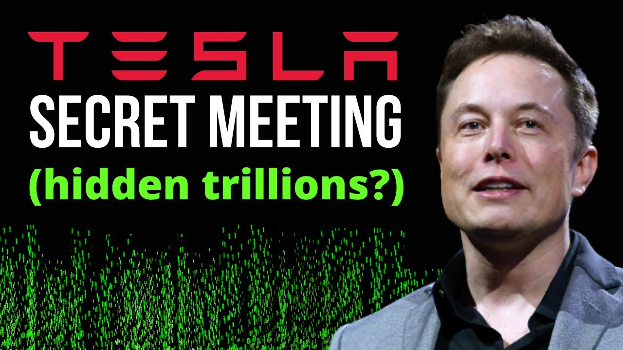 Elon Musk Just Dropped A Bombshell About Tesla's Path To Trillions