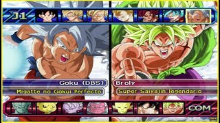 DRAGON BALL BUDOKAI TENKAICHI 4 VERSION LATINO | GOKU ULTRA INSTINTO VS BROLY | PIPE GAME/ANZU361
