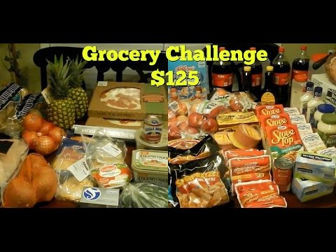 Holiday Grocery Shopping  Challenge $125 For Family Of 7 } Patti Pies Are Everywhere In The Store