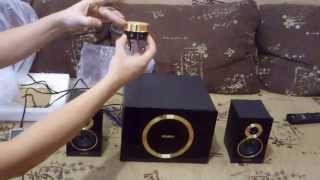 Видео обзор акустической системы SVEN MS-1085