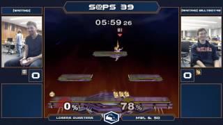 S@PS 39 Melee Singles - Semi (Peach/Red Fox) vs billyboy48 (Fox) - Winners Quarters