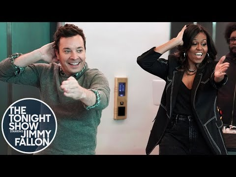 Maurice DeVoe - Michelle Obama and Jimmy Fallon Surprise Fans