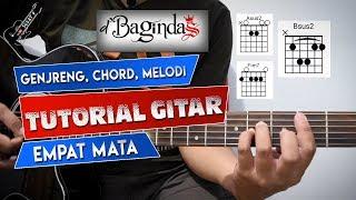 CHORD + MELODI D'Bagindas Empat Mata | Tutorial Gitar By Sobat P