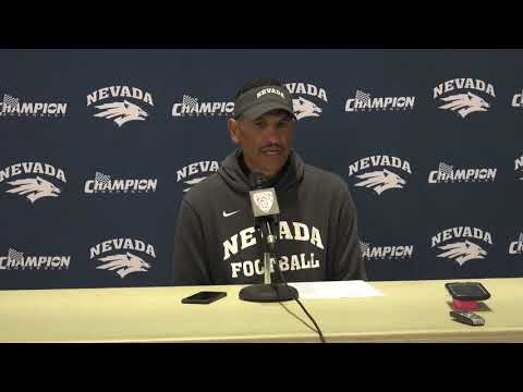 Nevada Football: Jay Norvell Postgame Press Conference