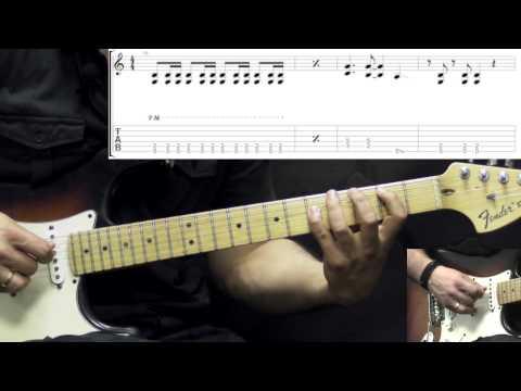 Heart - Barracuda - Rock Guitar Lesson Part1 (w/Tabs)