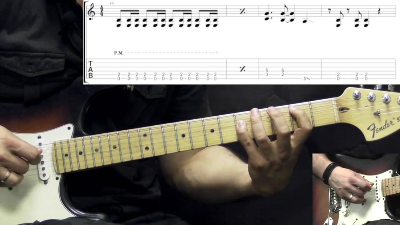 guitar Heart lick barracuda