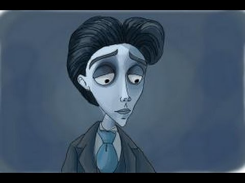 How To Draw Victor Van Dort From Corpse Bride YouTube