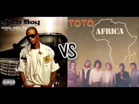 Rich Boy vs. Toto - Throw Some Ds/Africa