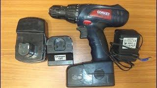 O'zgartirish 18 Ni-Cd uchun Li-Ion thumb screwdriver bilan batareyalar