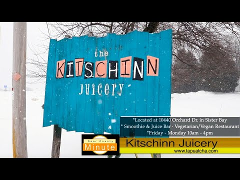 A Door County Minute: The Kitschinn Juicery In Sister Bay: Retro AND Health-Centered