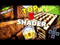 TOP 3 AS MELHORES SHADERS MINECRAFT POCKET EDITION 1.2 - iOS / ANDROID / W10 !
