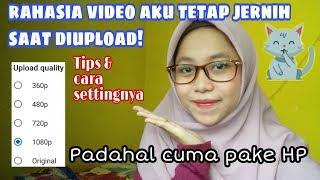 Gambar cover Tutorial Video Tetap Jernih saat diupload - HD QUALITY