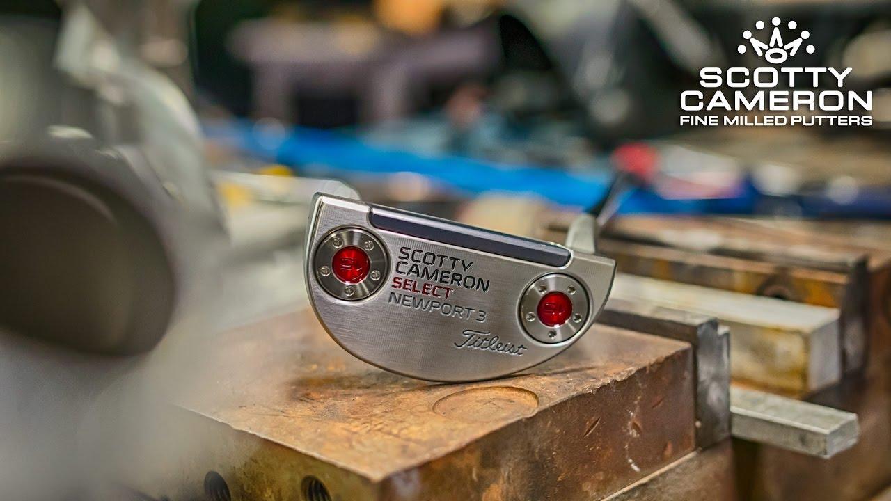 4b1b192715d8 Titleist Scotty Cameron Select Newport 3 Putter - Golf Equipment and ...