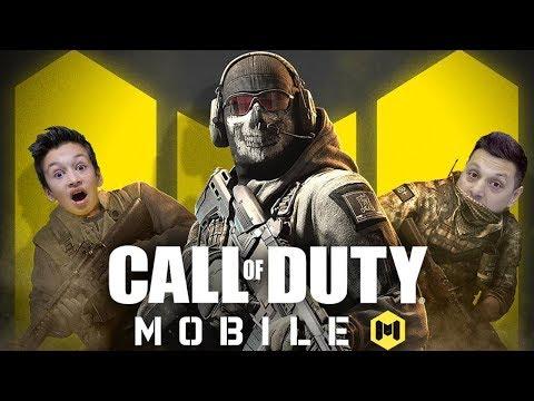 Call Of Duty Mobile Папа в Быстрой Сетевой Игре CODM IOS Gameplay