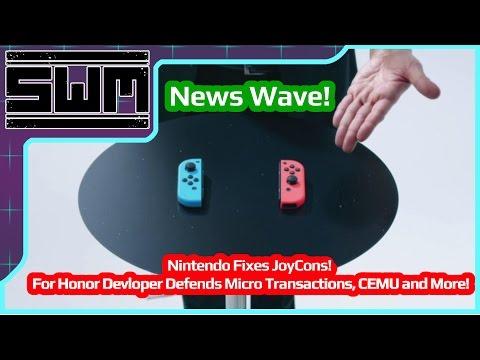 News Wave! - Nintendo Fixes JoyCons,  For Honor Developer Defends Micro Transactions, CEMU and More!