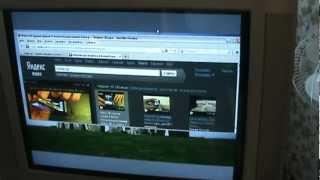 Как подключить ноутбук или нетбук к кинескопному (старому) телевизору.(Здесь описано как подключить нетбук или ноутбук к телевизору, и не важно старый кинескопный или современны..., 2012-08-05T17:52:02.000Z)