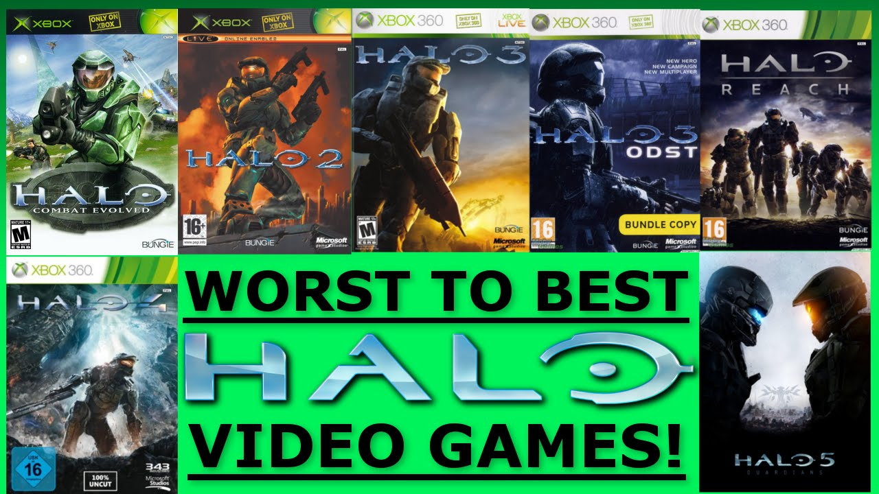 7 Halo Games Ranked Worst to Best - Ranked #2