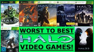 7 Halo Games Ranked Worst to Best - From Halo: CE to Halo 5