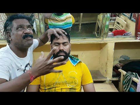 World greatest head massage baba sen The Cosmic barber.