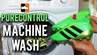 What happens when you put purecontrol in washing machine? ace 16 + adidas x15 bonus!
