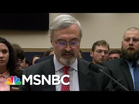 Watch AG Barr Defender Confronted By Mueller's Obstruction Facts | The Beat With Ari Melber | MSNBC
