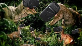 Jungle Dino | BEST VIRTUAL REALITY DINOSAUR GAME (Oculus Rift)