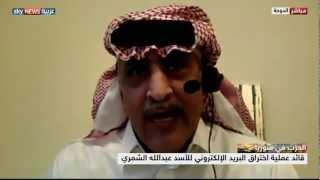 مخترق بريد الأسد يتحدث لسكاي نيوز عربية