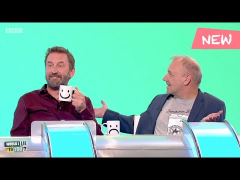 Lee Mack's Mug And Bob Mortimer - Would I Lie To You?
