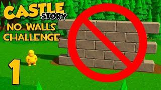 Castle Story Invasion on Riverains - Part 1 - NO STONE CHALLENGE