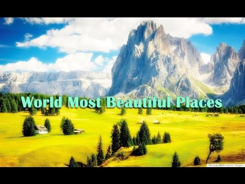 World Most Beautiful Places You Must Visit Before You Die Youtube