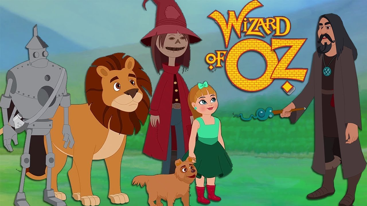 The Wizard Of Oz Full Movie  Cartoon Movie For Kids  English Fairy  Fairytale Fairytales Wizardofoz