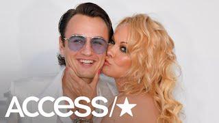 Pamela Anderson Brings Son Brandon Thomas Lee As Her Date To Cannes AmfAR Gala | Access
