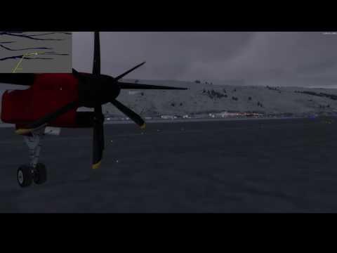 Pelage de miches et anti-ice à bloc - GRL515 - Q400 - BGSF Kangerlussuaq to BGGH Nuuk