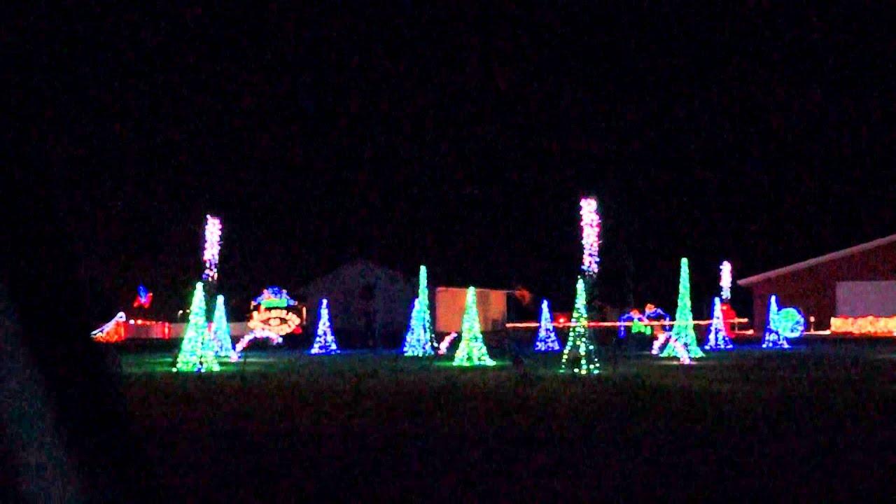 divots celebration of lights 2013 drive thru christmas light park - Celebration Christmas Lights