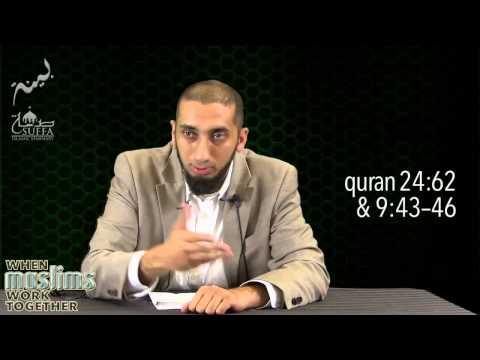 Volunteer Discipline & Seeking Permission - Nouman Ali Khan - Session 3/7