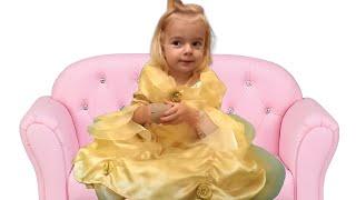 De ce mama s-a speriat? Ce a iesit din gunoi?  | Anabella Show