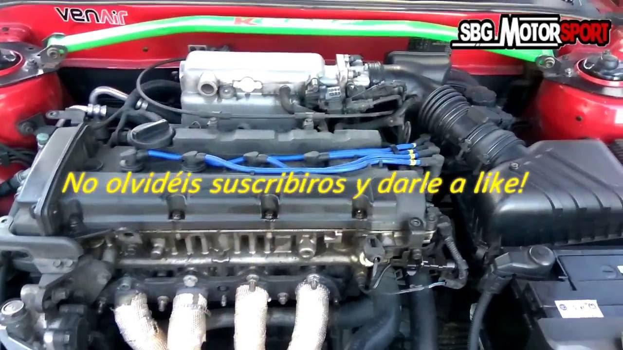 C 211 Mo Cambiar Los Cables De Buj 205 As Sbg Motorsport Youtube