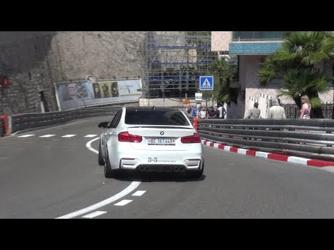BMW M3 F80 By GG Performance   EPIC Powerslides And Accelerations!
