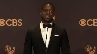 Sterling K Brown Finished his Best Actor Emmys Acceptance Speech Backstage