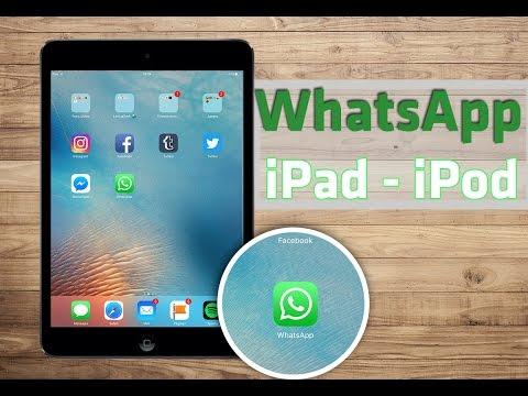 Instalar WhatsApp en iPad & iPod Touch iOS 9+ by LATITUDTECH DNS